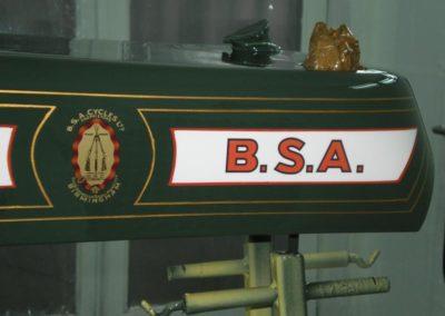 BSA 500 SV 1926 nádrž