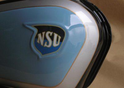 NSU 98 Quick nádrž