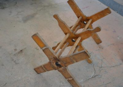 Hasičská stříkačka - naviák hadic