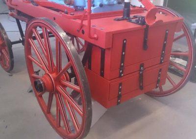 Hasičská stříkačka - koňka 1874