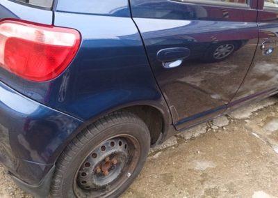 Toyota Yaris - oprava laku