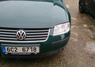 VW Passat oprava laku