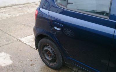 Toyota Yaris – oprava laku