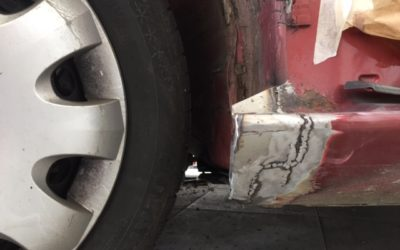 Škoda Octavia – karosářské opravy